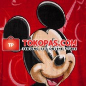Selimut Millenia Platinum A Mickey Merah