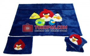 Karpet Rasfur Angry Birds Dasar Biru BCA