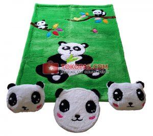 Panda. Karpet Karakter Panda