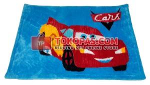 Karpet Rasfur / Bulu Boneka Cars McQueen