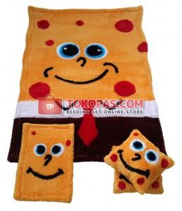 Karpet Rasfur / Bulu Boneka Spongebob