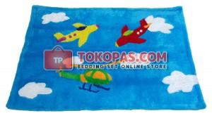 Karpet Rasfur / Bulu Boneka Aeroplane