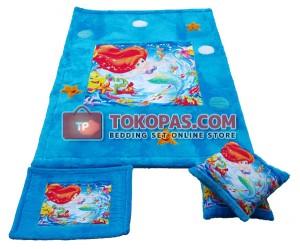 Karpet Rasfur Ariel Printing Dasar Elmo