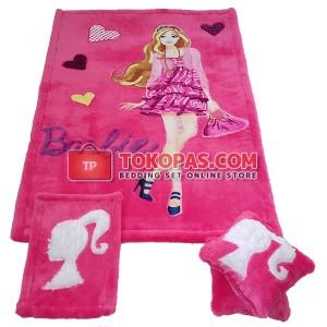 Karpet Rasfur Barbie Hangout Dasar Fanta