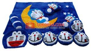 Karpet Fullset Rasfur Doraemon Bulan Dasar BCA