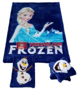 Karpet Rasfur Frozen Elsa