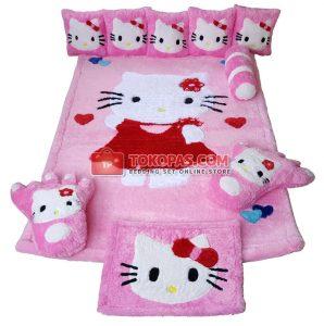 Karpet Karakter, Karpet Rasfur HK. Cute Dasar Pink Candy