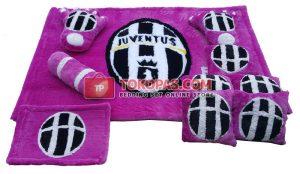 Karpet Rasfur Bola Juventus Dasar Barney