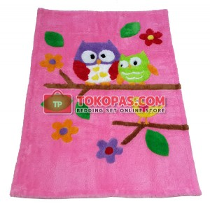 Karpet Rasfur / Bulu Boneka Owl