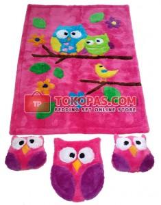 Karpet Rasfur Owl Dasar Fanta
