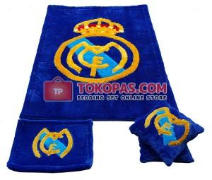 Karpet Rasfur Real Madrid Dasar Biru BCA