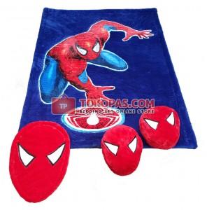 Karpet Rasfur Spiderman Sense Aplikasi