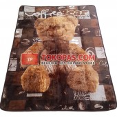 Karpet Selimut NS Coffee Bear