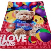 Karpet Selimut RO Bear Cola