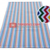 Karpet Kanvas / Canvas Chevron Rainbow