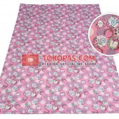Karpet Kanvas / Canvas Paris Amour Pink