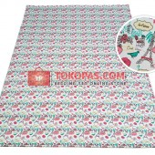 Karpet Kanvas / Canvas Paris Bonjour Pink