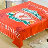 Selimut Bulu Lembut New Pulento Liverpool Red