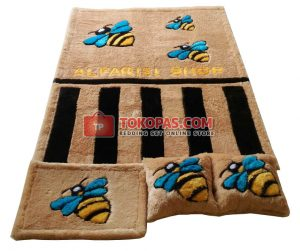 Karpet Rasfur Bee Dasar L. Brown