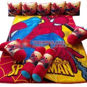 Karpet Selimut Full Set MD Spiderman Sense