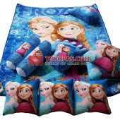 Karpet Selimut Full Set NS Frozen