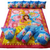 Karpet Selimut Full Set NS Princess Crown