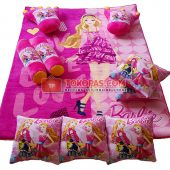 Karpet Selimut Full Set RO Barbie Party