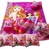 Karpet Selimut Full Set RO Barbie Paris