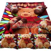 Karpet Selimut Full Set RO Crystal Bear