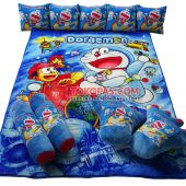 Karpet Selimut Full Set RO Doraemon Conan