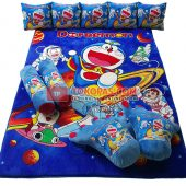 Karpet Selimut Full Set RO Doraemon Space