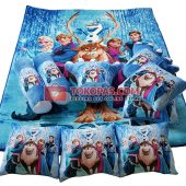Karpet Selimut Full Set RO Frozen Rusa