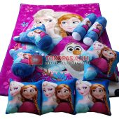 Karpet Selimut Full Set RO Frozen Sutra