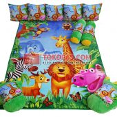 Karpet Selimut Full Set RO Jungle