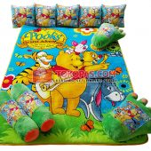 Karpet Selimut Full Set RO Pooh Adventure