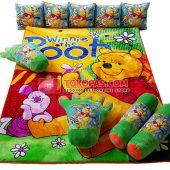 Karpet Selimut Full Set RO Pooh Piglet