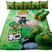 Karpet Selimut Full Set STAR Ben10