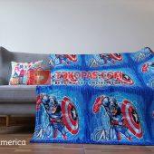 Selimut Karakter, Selimut Bulu Lembut Junior JN Captain America
