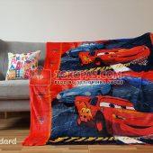 Selimut Karakter, Selimut Bulu Lembut Junior JN Cars Standard