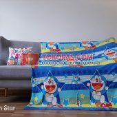 Selimut Karakter, Selimut Bulu Lembut Junior JN Doraemon Star
