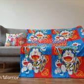 Selimut Karakter, Selimut Bulu Lembut Junior JN Doraemon Warrior