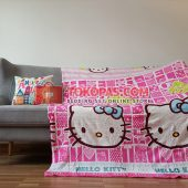 Selimut Karakter, Selimut Bulu Lembut Junior JN Hello Kitty Kotak