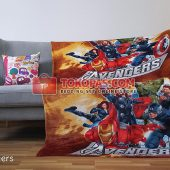 Selimut Karakter, Selimut Bulu Lembut Junior JN Avengers