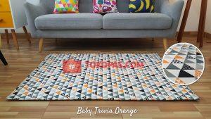 Karpet Katun Baby Trivia Orange