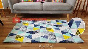 Karpet Katun Blue Trivia