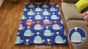 Karpet Katun Blue Whales