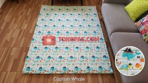 Karpet Katun Captain Whale