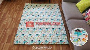 Karpet Katun Captain Whale