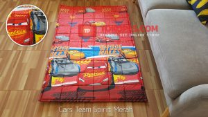 Karpet Katun Cars Team Spirit Merah