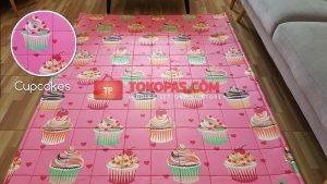 Karpet Katun Cupcakes